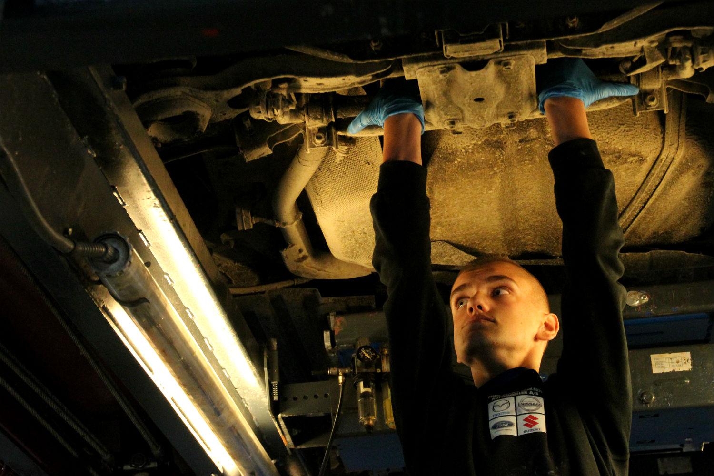 Drømmejobbet er mekaniker, og Nikolai er godt på vej